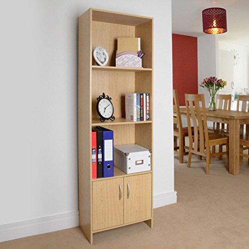 3-shelf-wooden-bookcase-storage-cabinet-cupboard-display-unit-by-christow
