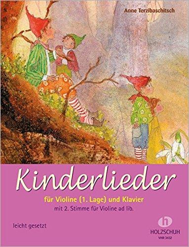 Kinderlieder für Violine (1. Lage) und Klavier