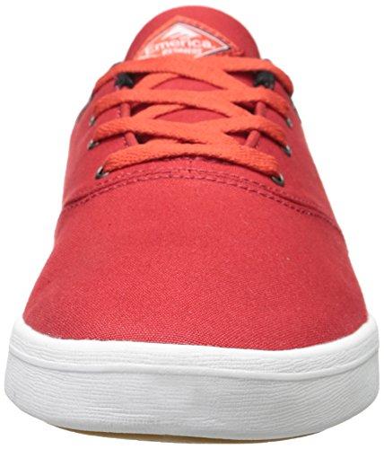 Herren Skateschuh Emerica The Reynolds Cruiser Lt Skateschuhe Red/White