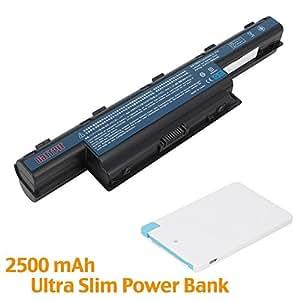 Battpit™ Batterie d'ordinateur Portable Pour Acer Aspire E1-571-6607 (10.8V 6600mAh / 71Wh) [18 Mois de garantie]