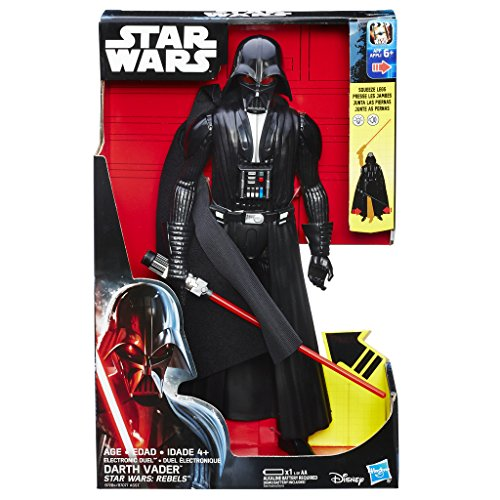 Star Wars Rebels - Figura interactiva Darth Vader (Hasbro B7284ES00)