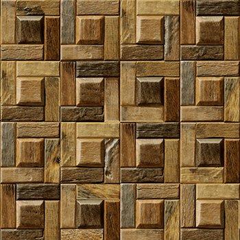 UCCUN PVC Holzmaserung Tapeten Modern Retro Persönlichkeit Holzbrett Tapete  Wohnzimmer Fernseher Sof