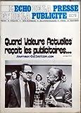 Telecharger Livres ECHO DE LA PRESSE ET DE LA PUBLICITE LO No 924 du 14 10 1974 QUAND VALEURS ACTUELLES RECOIT LES PUBLICITAIRES SOMMAIRE INFORMATIONS APRES LE RACHAT DOCOICI PARIS PAR PIERRE CASTEL GUY SAINT SOLIEUX DEVIENT DIRECTEUR GENERAL DE LOCOHEBDOMADAIRE NOUVELLE ASSOCIATION DE JOURNALISTES UNE ASSEMBLEE DU COMITE INTERSYNDICAL DU LIVRE PARISIEN LA REGIE FRANCAISE DE PUBLICITE ET LA REFORME DE LOCOO R T F GASTON PALEWSKI PREND LA DIRECTION DE LA REVUE DES DEUX MONDES POUR REDUIRE UN (PDF,EPUB,MOBI) gratuits en Francaise