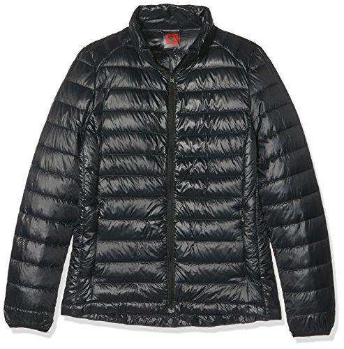 HUKOER-Chaqueta-de-pluma-de-Invierno-plumn-para-mujer-Compresible-Ligero-Acolchada-terciopelo-de-pato-abrigo-chaqueta-abajo-Negro-M