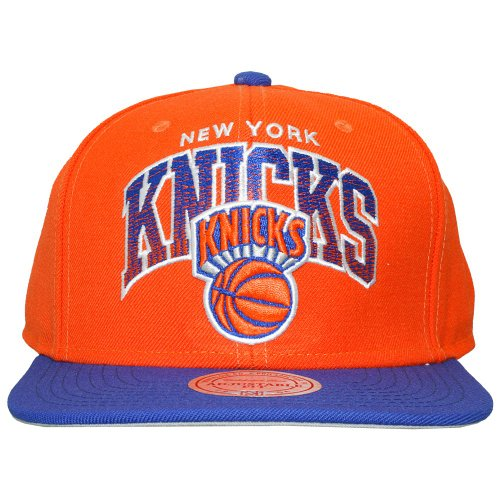 Mitchell & Ness - Casquette Snapback Homme New York Knicks Stack