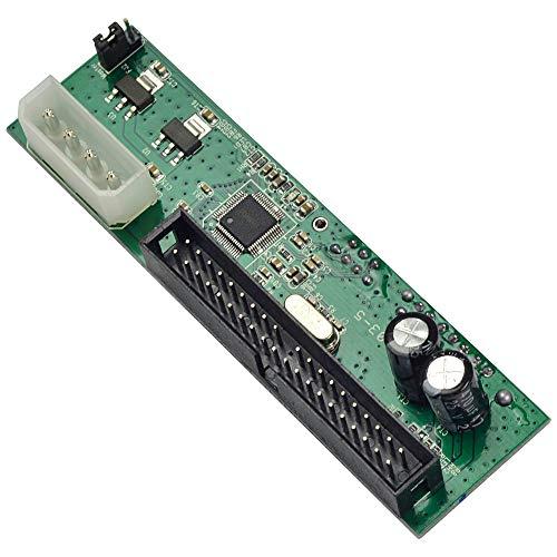 MENGS 2.5 / 3.5 Festplatte Serien SATA auf ATA IDE PATA Card 40 Pin Konverter Adapter -