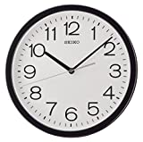 Best Seiko horloge - Seiko QXA693K Horloge Murale, Plastique, Noir, 31,1 x Review