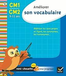Mini chouette améliorer son vocabulaire CM1/CM2 9-11 ans