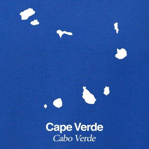 Cape Verde / Kap Verde Silhouette - Herren T-Shirt - 13 Farben Royalblau