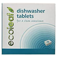 ECOLEAF Dishwasher Tablets, 25-Count