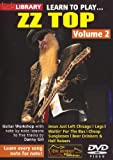 Lick Library: Learn To Play Zz Top - Volume 2 [Import allemand]