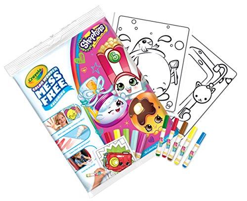 Crayola 75-2416.0054Shopkins Farbe Wonder Bumper Pack - Crayola Magic Coloring Book