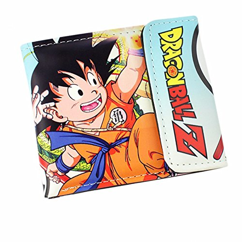 Cartera de cuero de Goku niño Dragon Ball Z