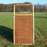 Weidenzaun / Flechtzaun 'Fence' als Sichtschutz und Windschutz - Sichtschutzzaun H:180xB:90cm