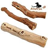 Knorzi - Bio Kauholz für den Hund - Größe S - Hundespielzeug - Kauknochen - Kauvergnügen - Beschäftigungsspielzeug - nachhaltiges, biologisches Produkt - EINWEG