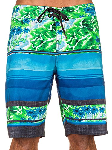 Herren Boardshorts / Surfshorts Hyper Freak Ambition Blau