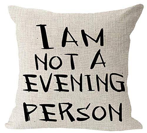 hdyefe Schwarzweiss-Musik Sein, WEM ich Anmerkungskissen-Zitat Bin Kissen CaseFor Sofa-Ausgangsdekorativer Pillowslip-Geschenk-Ideen Haushalt Pillowcase Zippered Pillow Covers 18X18 Zoll -