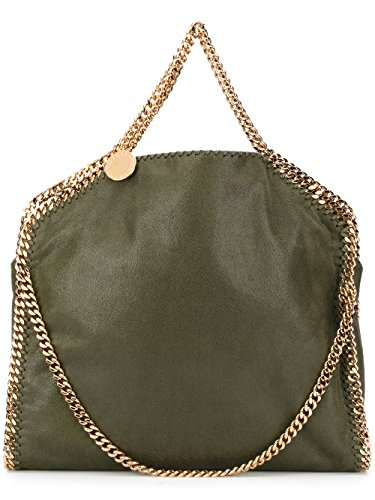 Stella-Mccartney-Womens-234387W93553200-Green-Polyester-Tote