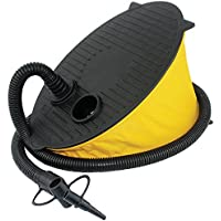 Yellowstone Foot Pump, Yellow/Black, 5 Litre