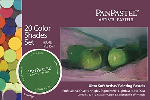 PanPastel 20-Farben-Set Schattierungen