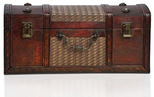 Brynnberg - Caja de Madera Cofre del Tesoro Pirata de Estilo Vintage,...
