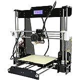 Anet Reprap i3 Imprimante 3D en kit Desktop Haute Precision DIY Acrylique Cadre - 8 G Carte SD - Taille d'impression 220 * 220 * 240 mm Support ABS / PLA / HIP / PP / Filament de bois