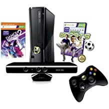 Xbox 360 250 GB Kinect + Kinect Sports + Dance Central 2 (Download) Bundle