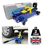 2 Tons Hydraulic Floor Jack Heavy Duty Steel Trolley Profile Lifting Jack Car Van Garage Emergency Car Tyre Repair Changing Tool