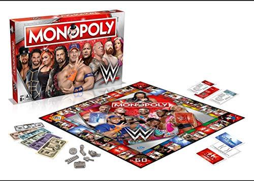 WWE Monopolio Juego de Tablero versión en inglés