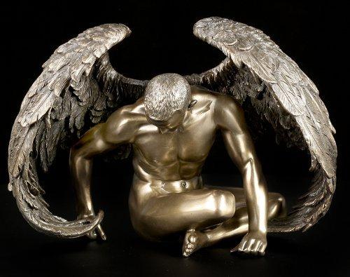 Gefallener Engel - Angels Rest - Männliche Akt Figur