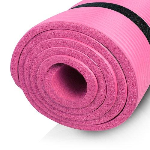 diMio Tappetino da yoga/pilates 185x 60cm, in 2spessori e 6colori, senza ftalati e testato SGS, Grigio, XL