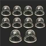 Alamor 10Pcs Carburatori Primer Bulb Per Homelite Echo Stihl Zama
