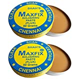 #6: CLEANMAX Maxfix Soldering Paste (Flux) -Pack Of 2- 50g