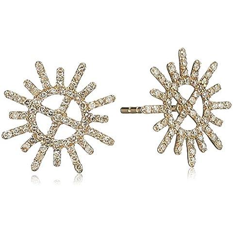 Jade Jagger Insignia Garter e stelle, oro giallo 14 k e orecchini con diamante - 14k Oro Jade Stud