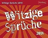 Witzige Sprüche - Kalender 2018