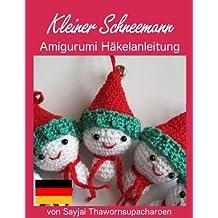 Kleiner Schneemann Amigurumi Häkelanleitung