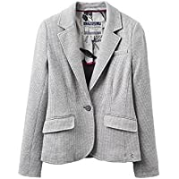 Joules Womens/Ladies Olivia Jersey Cotton Tweed Blazer Jacket by Joules