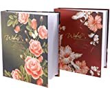 [Sponsored]Vosarea 200-Pocket Photo Album Slip In Photo Album Page Scrapbook Photo Protector Random Color