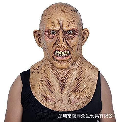 Adult Made Home Kostüm - Halloween Gruselige Maske Zombie Masken Horrible Adult Full Face Horror Böse Bloody Big Mouth Scary Monster Masken
