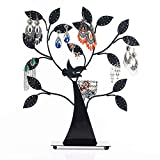 CCDZ Vogelnest Tree Jewelry Rack Halskette Ohrring Eisen Art Ear Show Frame