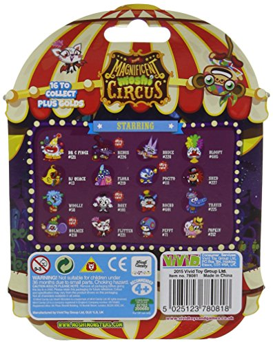 Image of Moshi Monsters The Magnificent Moshi Circus Collectors Action Figure (Pack of 5)