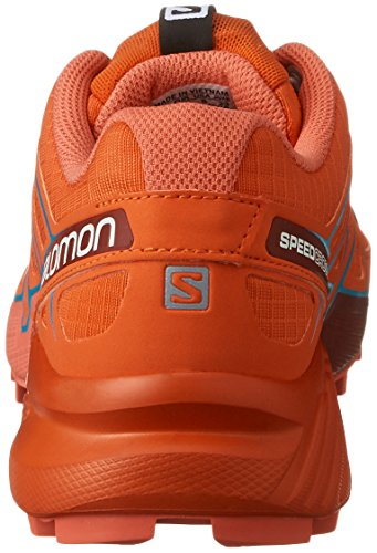 Salomon Speedcross 4 W Tomato Red Coral Punch Blue Jay Orange