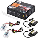 XCSOURCE® 55w Hid Kit de conversión de xenón Lastre Slim Single Beam y Bi - xenón Opciones H1 9004 6000K Headlight Canbus Error libre LD705