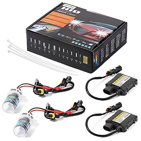 XCSOURCE Kit de Ballast à Faisceau Unique 55w HID Xénon et Bi-xénon H1 9004 6000K pour phare de voiture LD705