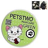 Aolvo Paw lozione idratante 100% organico Paw riparazioni e idrata Pet Paw/naso, cura e Rescue Dry, ferite, caldo e macchie grezzo, ideale per condizioni climatiche estreme 60ml Cat