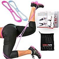 Starktape Bandas resistentes para glúteos, calentamiento de cadera, círculo de activación para mujer Taille