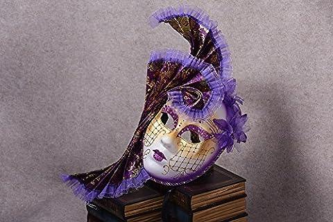 Black Widow Halloween Costume Accessoires - K & C Cosplay Masque Venise Bal