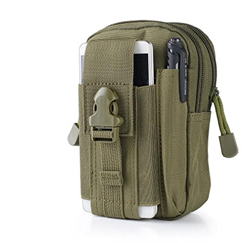 90Punkte Mehrzweck-Military Tactical Taille Tasche, Military Drop Bein Tasche für Outdoor-Aktivitäten military green