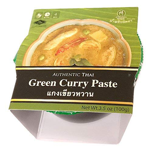 Nittaya Thai Curry Nittaya Authentic Thai Green Curry Paste, 100 g