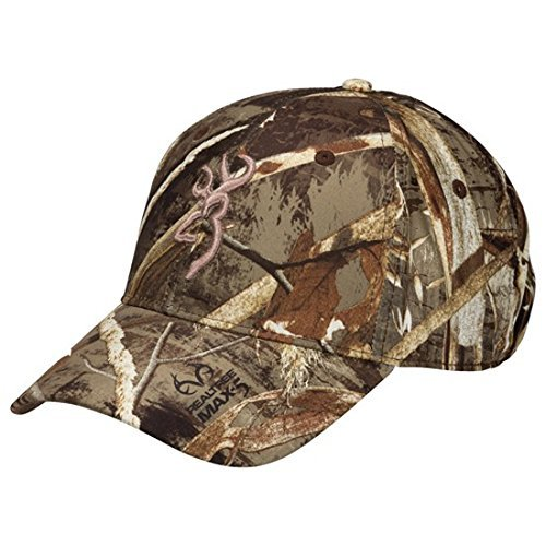 Browning-camo Cap (Browning Trail-Lite Hat Ball Cap Realtree Max-5 Camo by Browning)